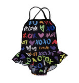 Cruz Infant XOXO Ruffle One Piece Swimsuit