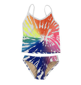 Cruz Rainbow Graphic Tankini