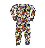 Baby Steps Multi Sports Print Pajama Set