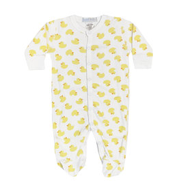 Baby Steps Yellow Ducks Footie