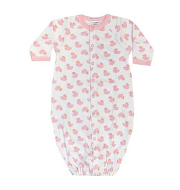 Baby Steps Pink Ducks Gown NB