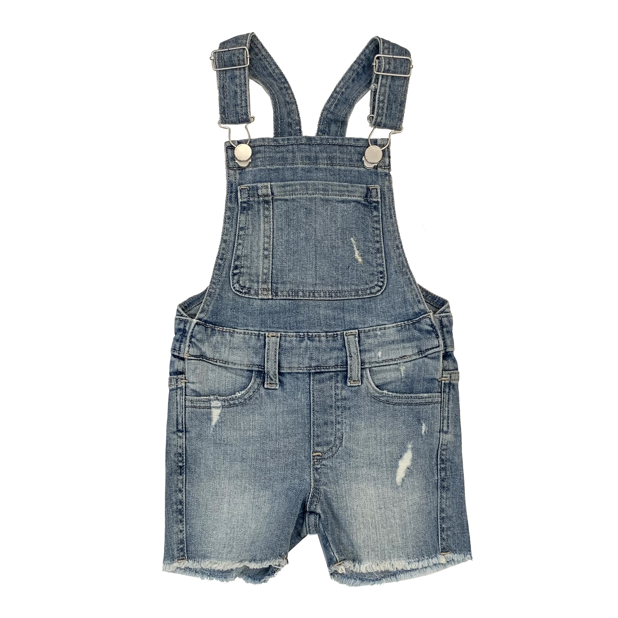 DL1961 Denim Overall Shorts