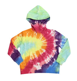 Katie J Rainbow Tie Dye Sweatshirt