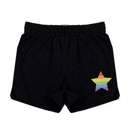 Rainbow Star Camp Shorts