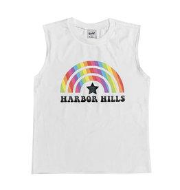 White Rainbow Custom Camp Tank