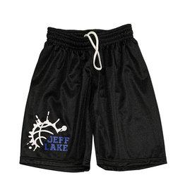 Boys Splatter Basketball Custom Mesh Camp Shorts