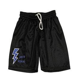 Boys Lightning Bolt Custom Mesh Camp Shorts