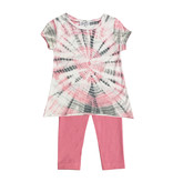 Flowers by Zoe Pink Tie Dye Set