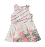 Flowers by Zoe Pink Tie Dye Infant Dress