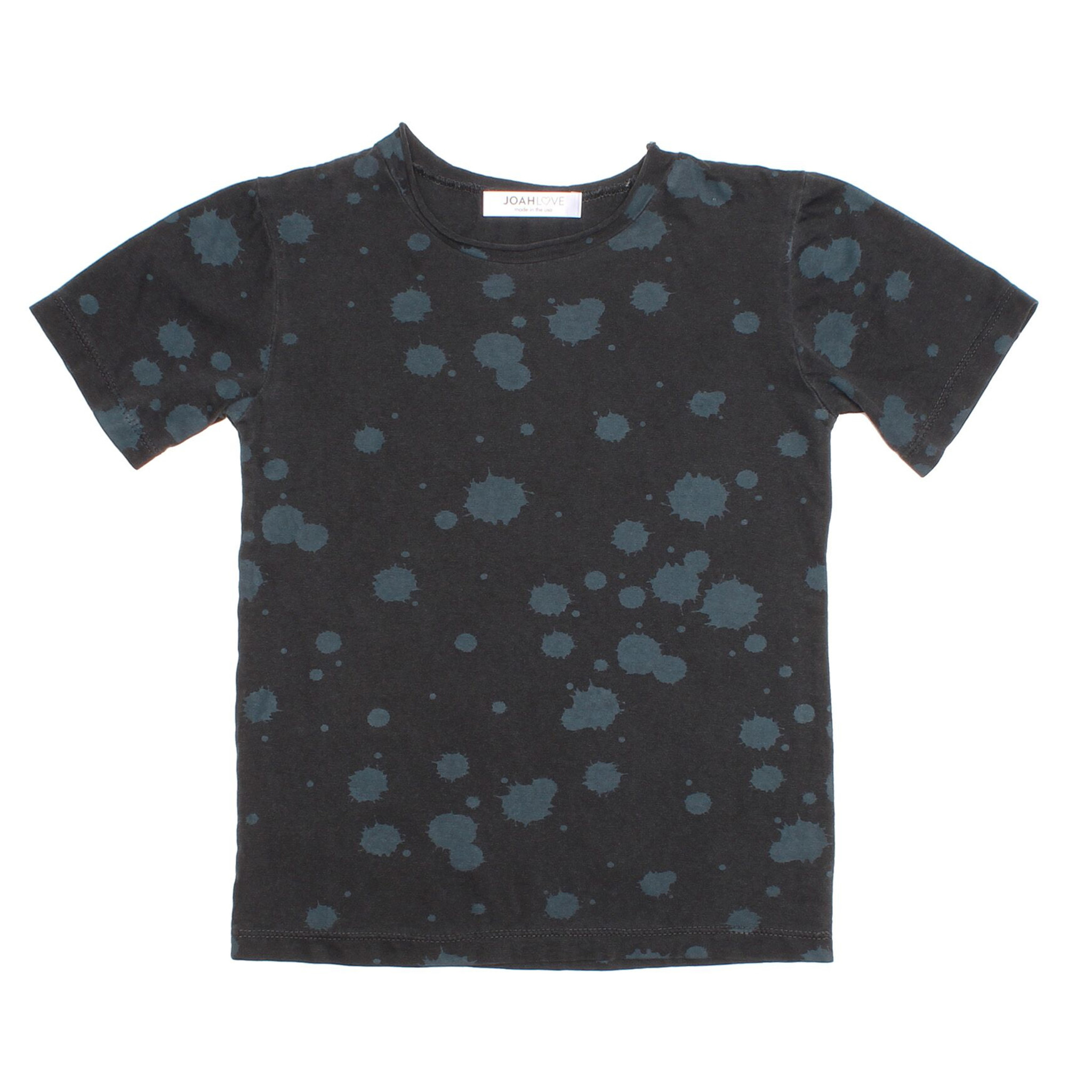Joah Love Black Splatter Tee