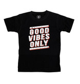 Wes & Willy Black Good Vibes Tee
