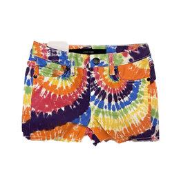 Joe's Bright Tie Dye Rainbow Short