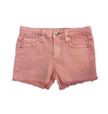 Joe's Light Pink Fringed Short