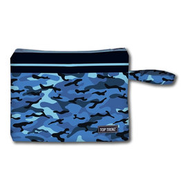 Blue Camo Wet Bag