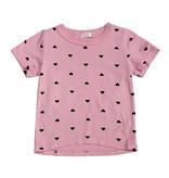 Cozii Pink Heart Print Tee