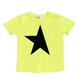 Joah Love Neon Yellow Star Tee