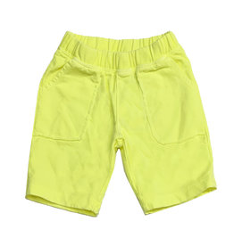 Joah Love Neon Yellow Infant Pocket Shorts