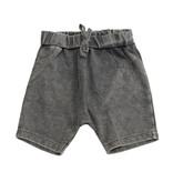 Mish Grey Enzyme Harem Infant Shorts
