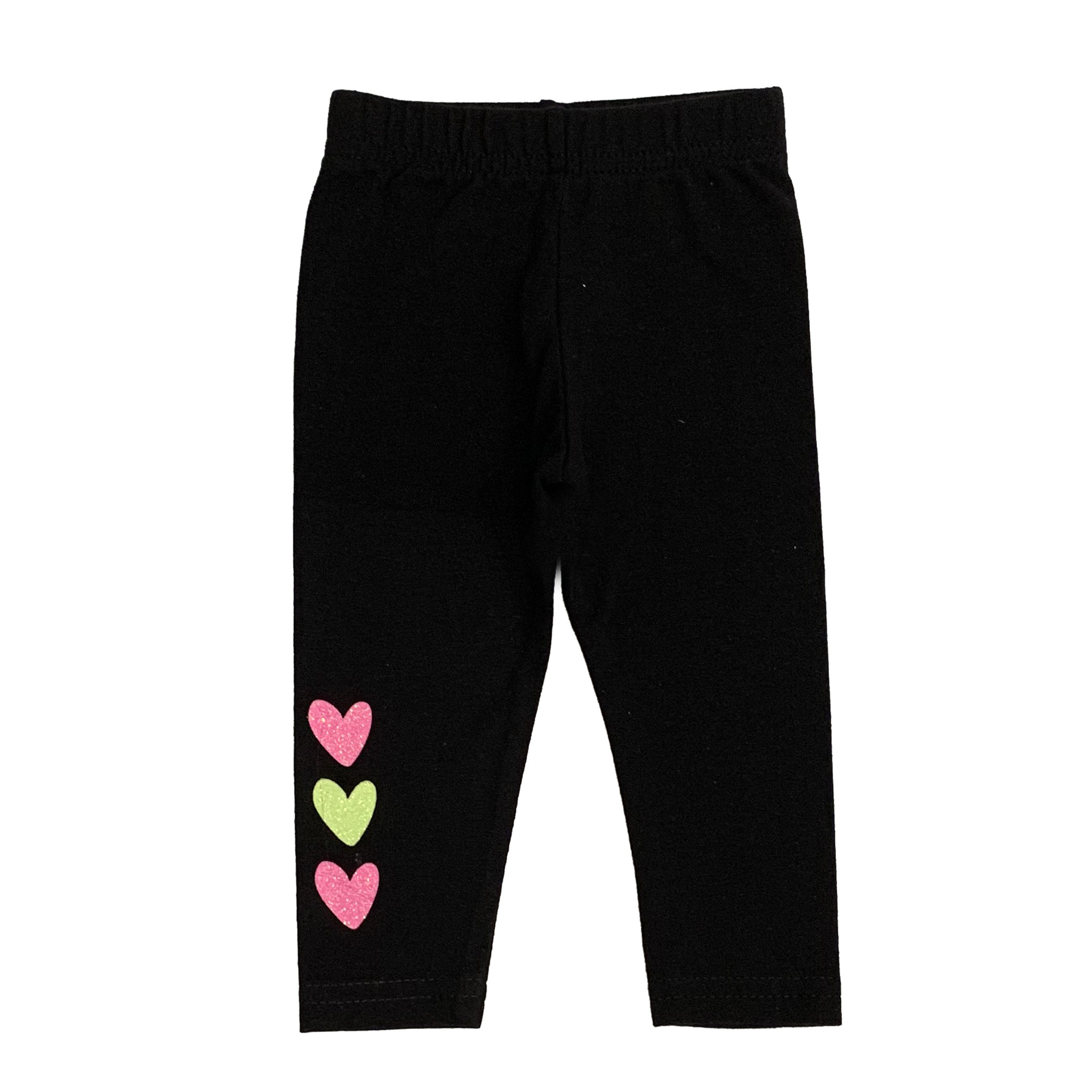 Small Change Neon Hearts Leggings