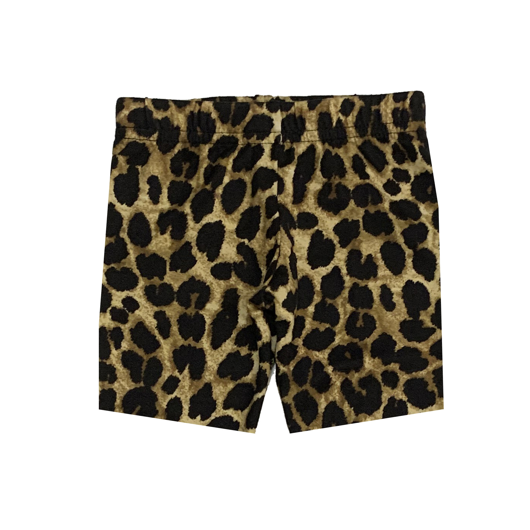 Small Change Cheetah Print Bike Shorts