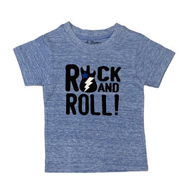 Small Change Blue Rock n' Roll Tee