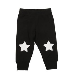 Small Change White Star Knee Pant