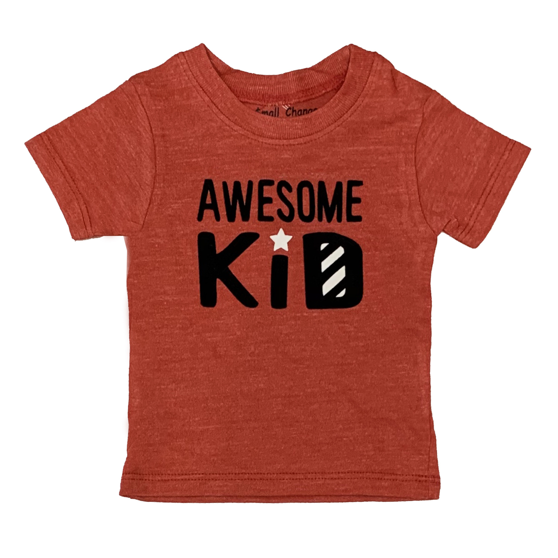 Small Change Red Awesome Kid Tee