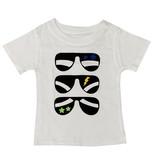 Small Change Boys White Sunglasses Tee