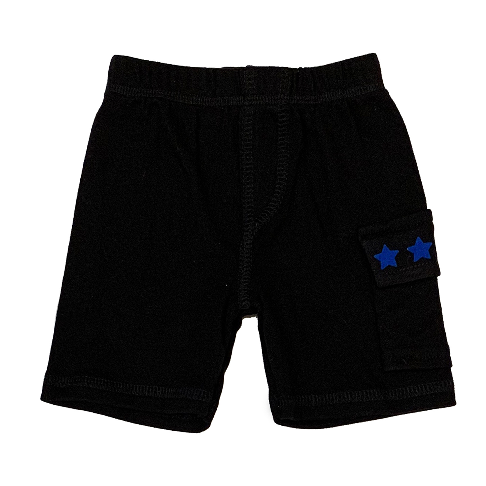 Small Change Blue Star Cargo Shorts