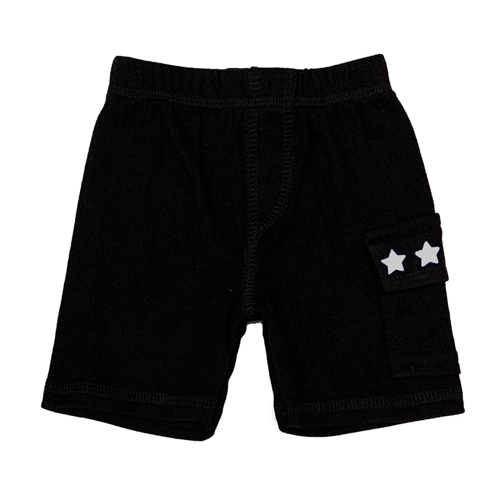 Small Change White Star Cargo Shorts