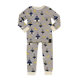 Sweet Bamboo Tribal Teepees Pajama Set