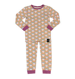 Sweet Bamboo Rockin' Rainbow Infant Pajama Set