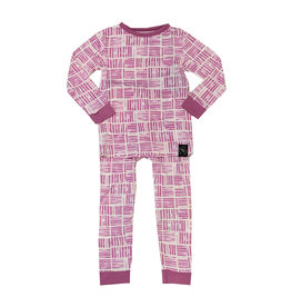Sweet Bamboo Crocus Watercolor Infant Pajama Set