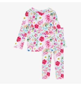 Posh Peanut Alice Floral Two Piece Loungewear Set