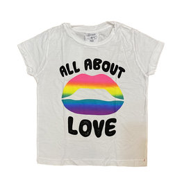 Flowers by Zoe White About Love Tee
