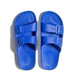 Freedom Moses Slide Sandals Cobalt Blue