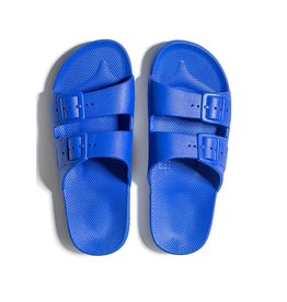 Freedom Moses Slide Sandals Cobalt Blue
