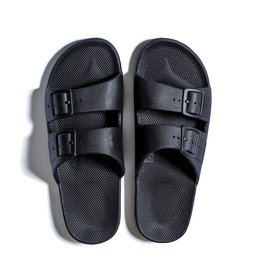 Freedom Moses Slide Sandals Black