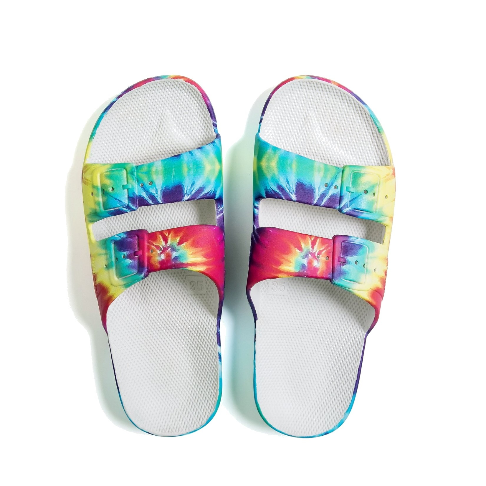 Freedom Moses Slide Sandals Tie Dye