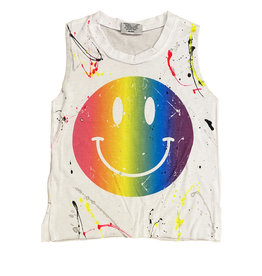 Firehouse Neon Smile Splatter Tank