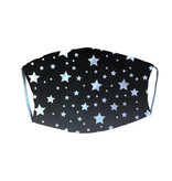 Black Stars Adult Mask