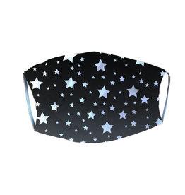 Black Stars Adult Mask