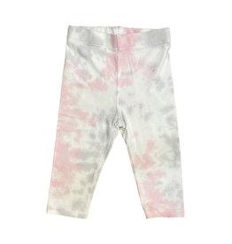 Cozii Pink & Grey Tie Dye Leggings