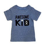 Small Change Blue Awesome Kid Tee