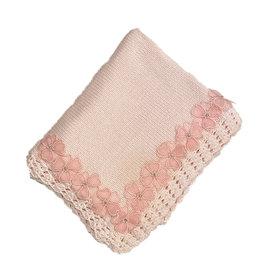 Gita Sheer Flower Blanket