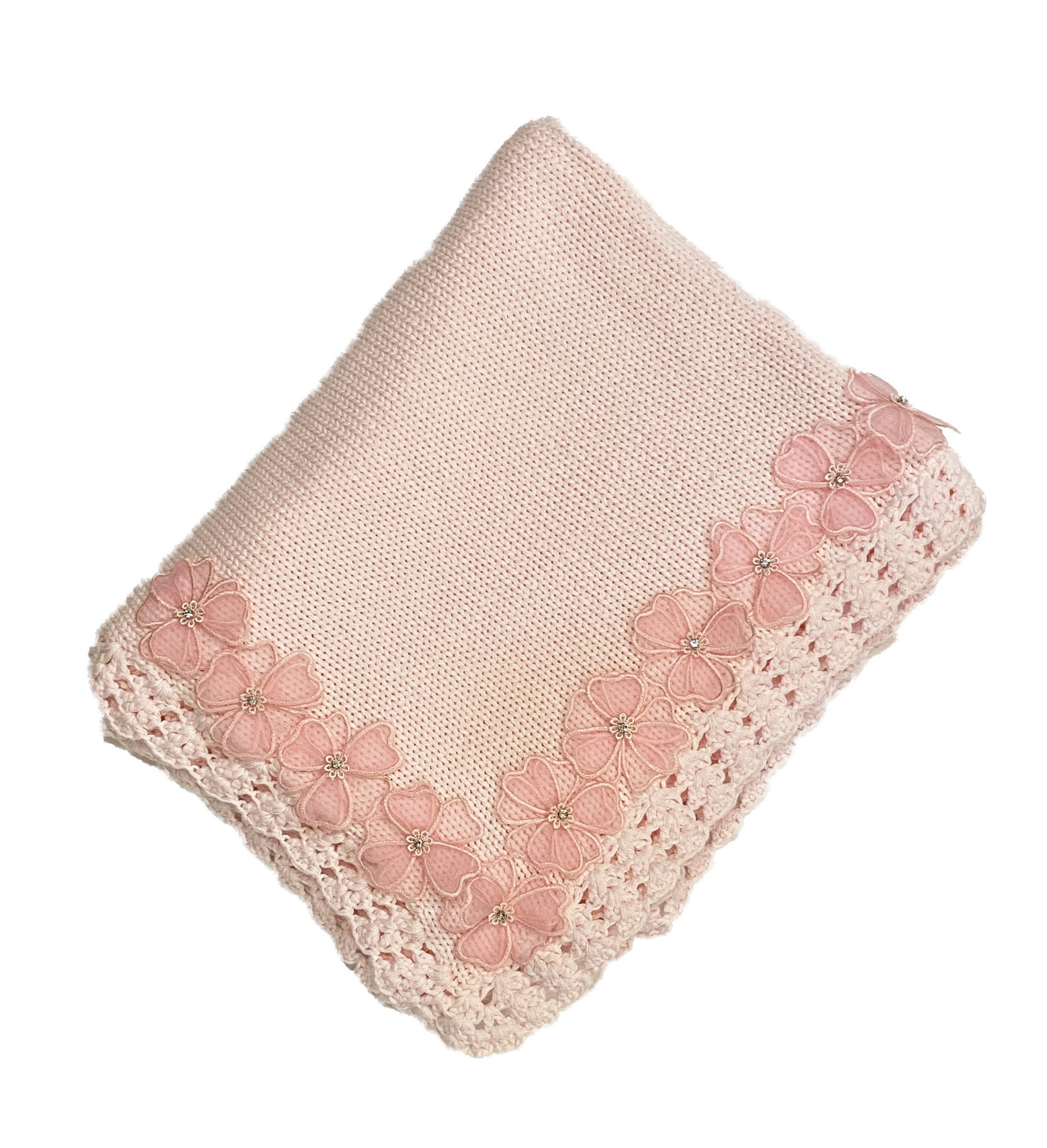 Gita Sheer Flower Blanket