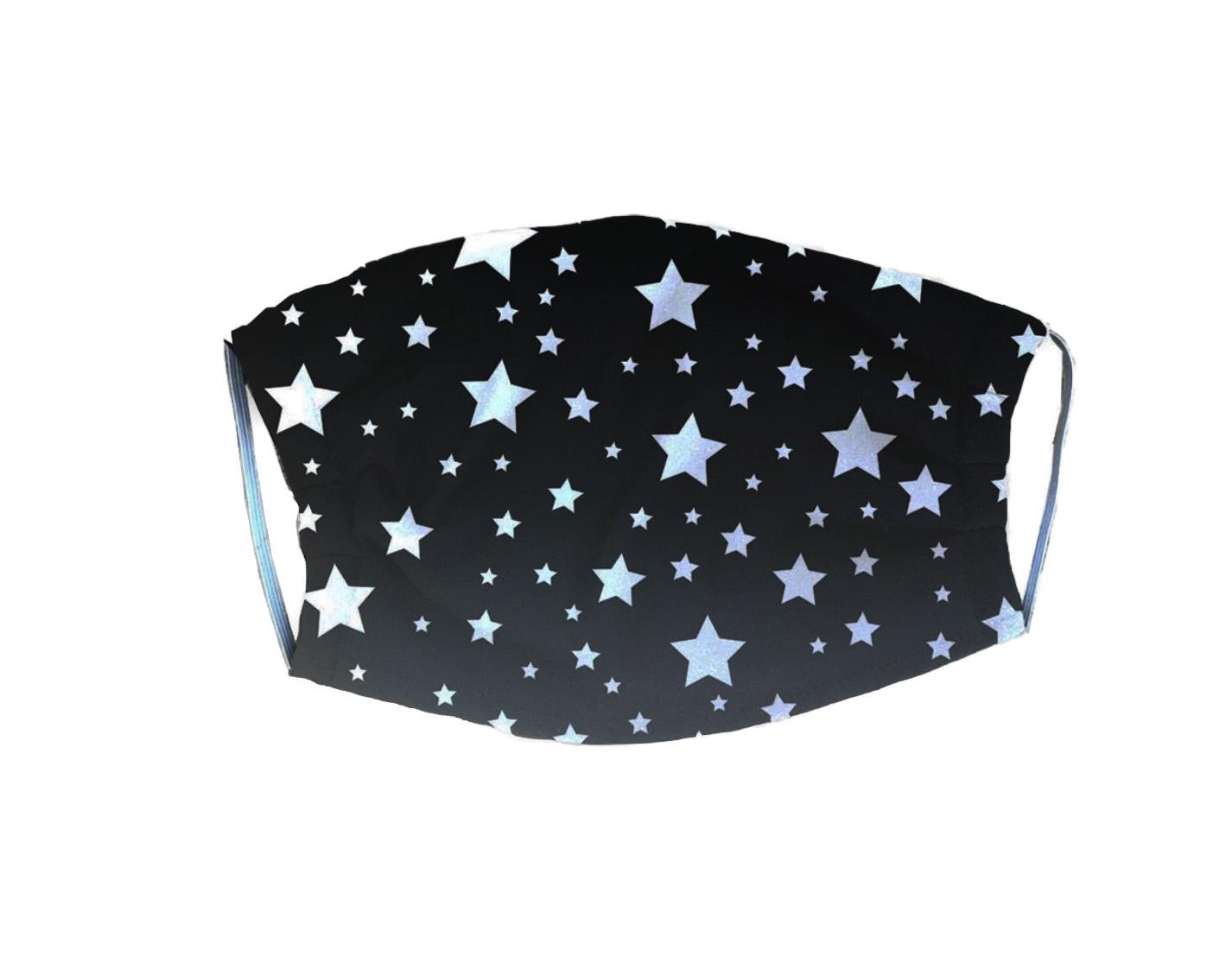 Black Stars Kids Mask