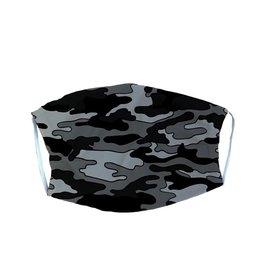 Black Camo Adult Mask