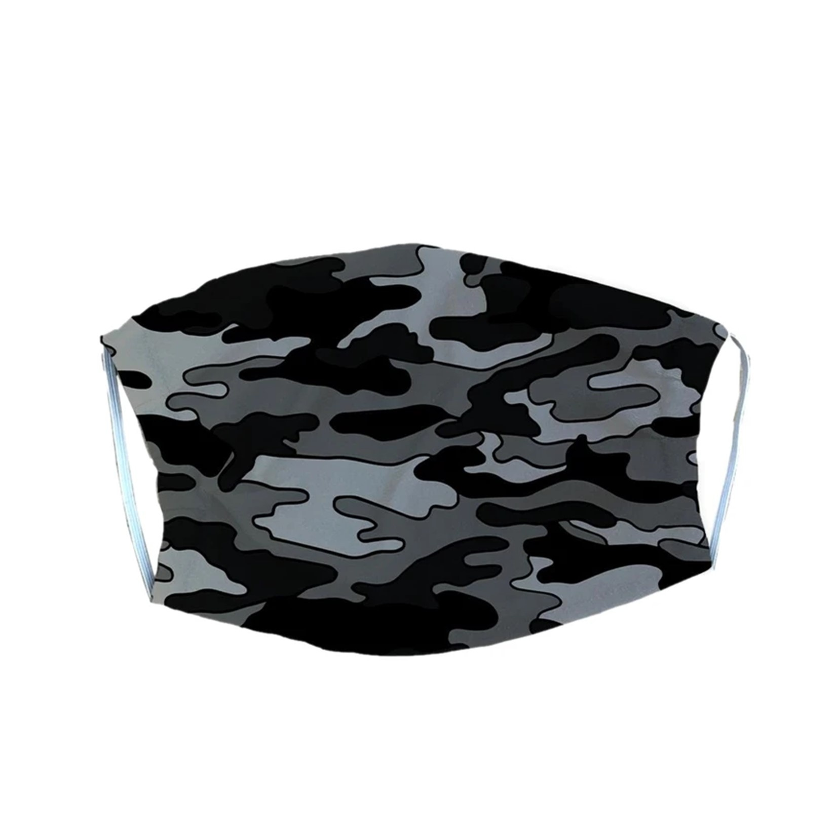 Black Camo Adult Mask