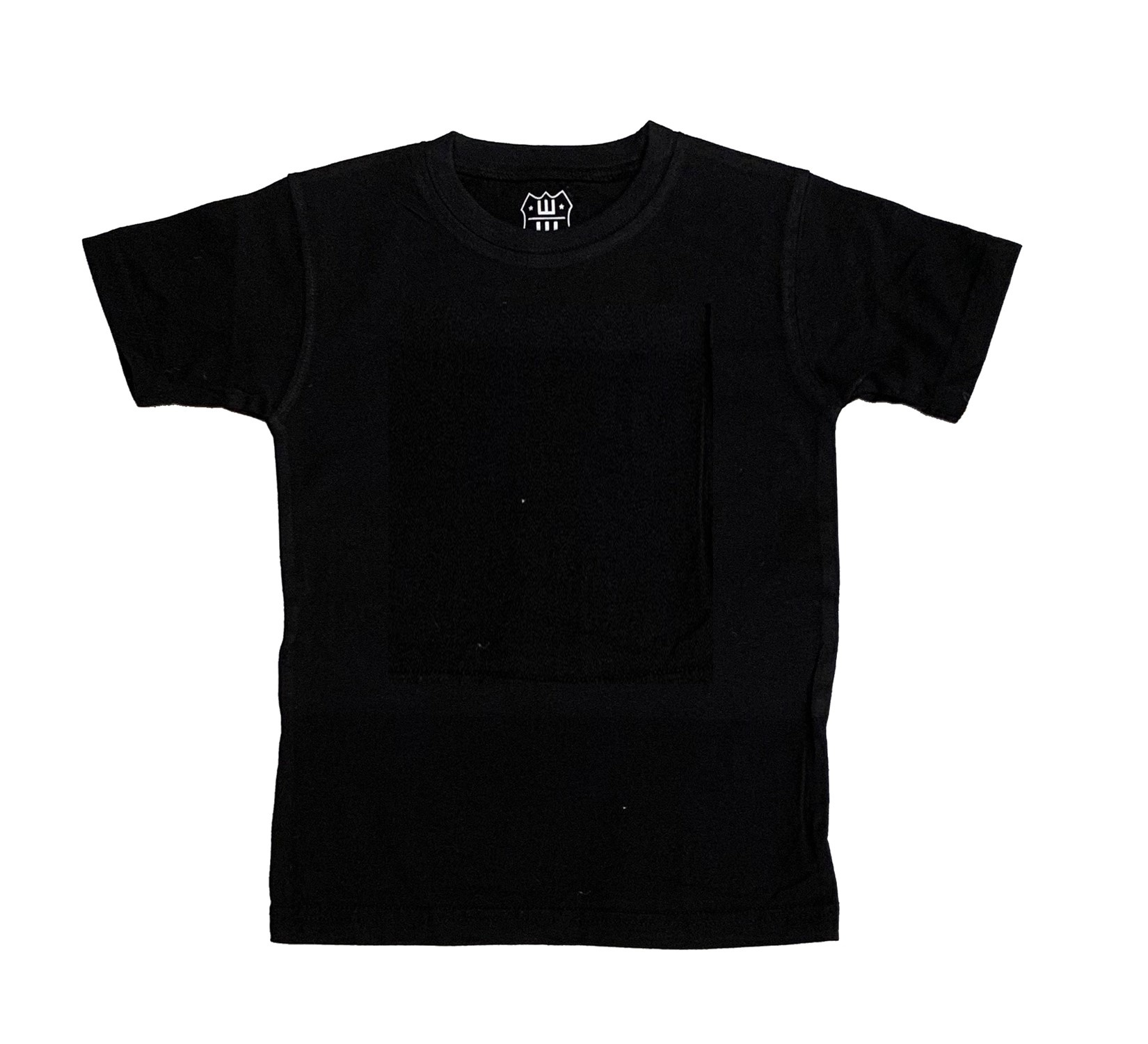 Wes & Willy Black Tee